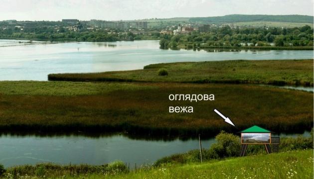 На Бурштинському водосховищі встановлять вежу для туристів-бьордвотчерів