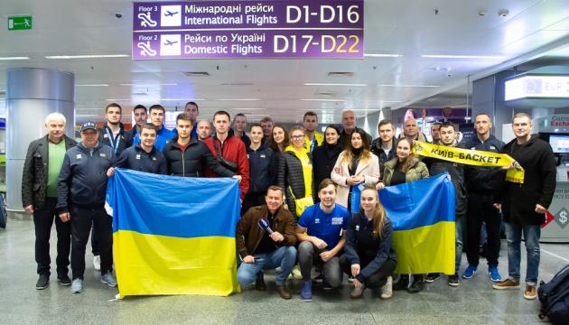 У Києві зустріли срібних призерів ЧС з баскетболу 3х3