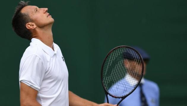 Стаховський зачохлив ракетку у другому колі турніру ATP серії Challenge у Франції