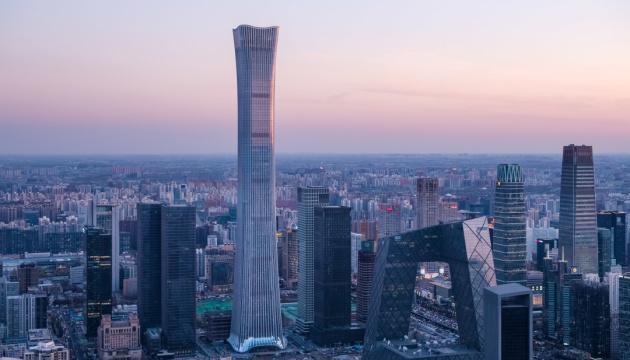 У Пекіні збудували хмарочос заввишки понад пів кілометра