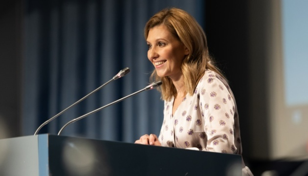 Olena Zelenska souhaite s'investir dans le domaine de l' alimentations des enfants