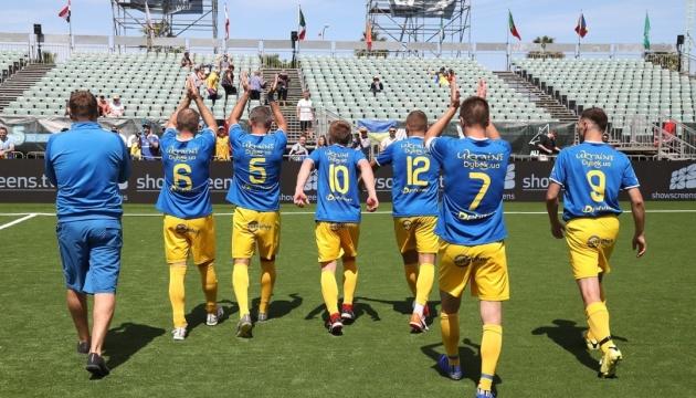 Україна поступилася Угорщині в 1/4 фіналу ЧС з мініфутболу