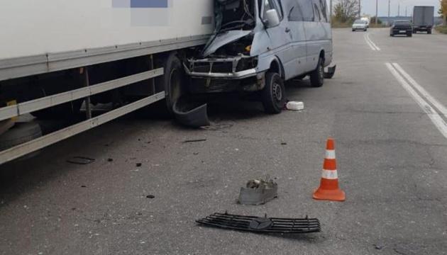 Смертельна ДТП у Запоріжжі: вантажівка зіткнулась із маршруткою