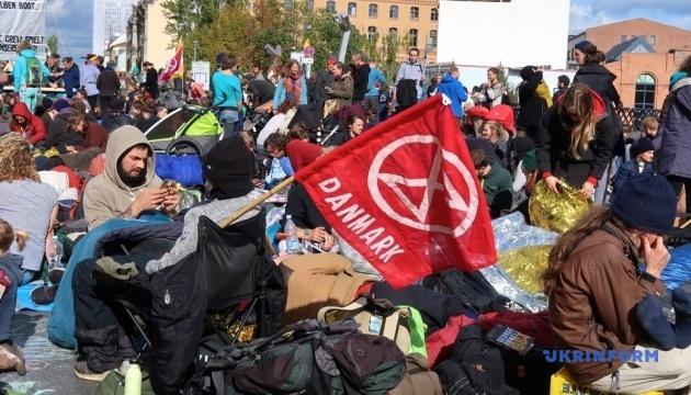 Экоактивисты уже три дня блокируют берлинские улицы