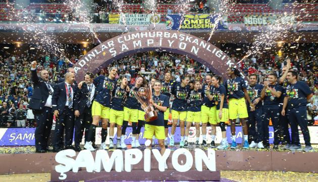 """Ягупова виграла свій перший трофей у складі баскетболісток """"Фенербахче"""""""