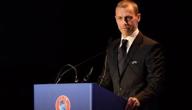 Президент УЄФА прокоментував ситуацію з жеребкуваннями України і Росії