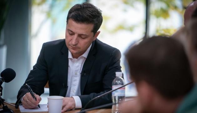 """""""Да"""" амнистии """"нет"""" референдуму: Зеленский объяснил позицию относительно особого статуса Донбасса"""