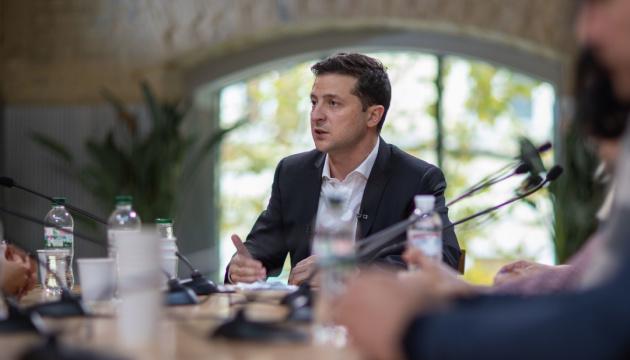 Präsident Selenskyj: Ohne 7 Tage Waffenruhe keine Truppenentflechtung in der Ostukraine