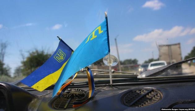 Під час обшуку силовики РФ вилучили у активіста Приходька кримськотатарський прапор