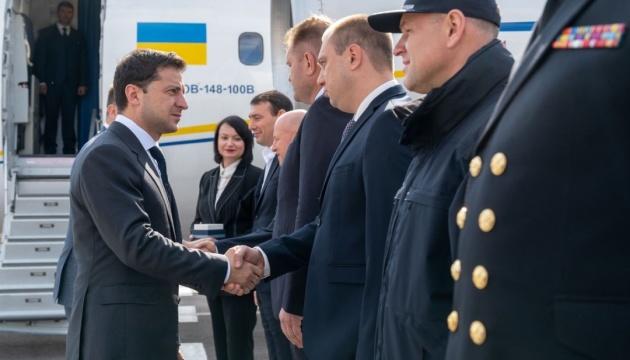 Präsident Selenskyj besucht Odesa