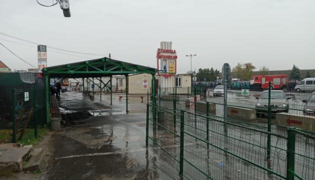 КПВВ у Станиці тимчасово закрили через