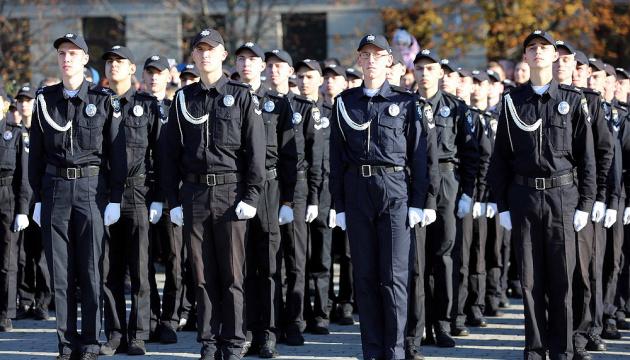У Києві склали присягу працівника поліції 800 курсантів
