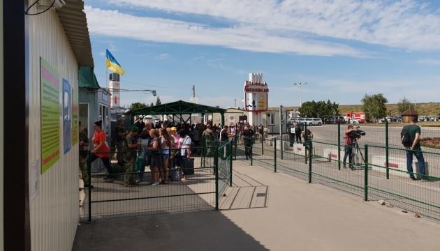 На КПВВ у Станиці Луганській помер чоловік