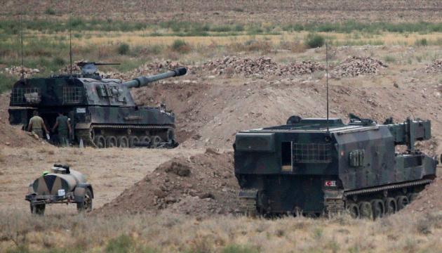 Турецькі військові обстріляли ракетами підконтрольні курдам позиції в Сирії