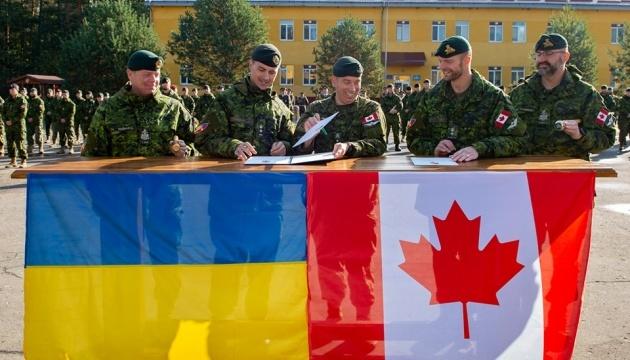 Kanadyjskie wojsko przeprowadziło rotację na Ukrainie ZDJĘCIA