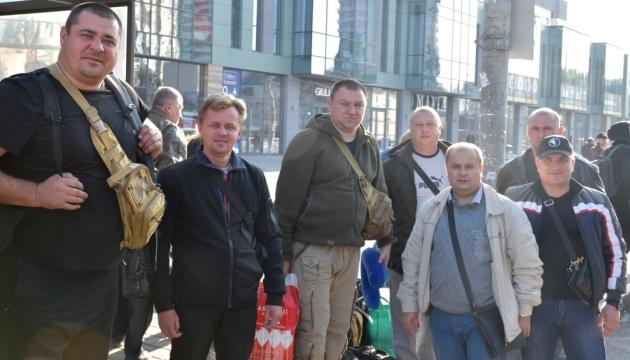 До України після реабілітації в Грузії повернулися учасники АТО та ООС