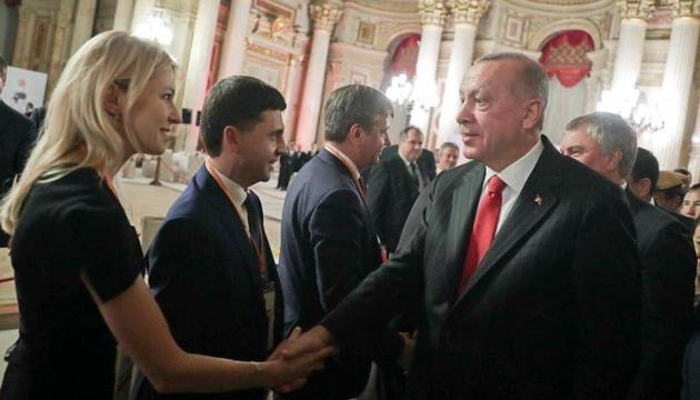 МИД направил ноту Турции из-за встречи Эрдогана с