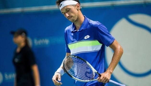 Стаховский проиграл в полуфинале квалификации турнира ATP в Бельгии