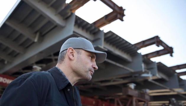 Будівництво Шулявського мосту: Кличко розповів про важливі роботи у понеділок