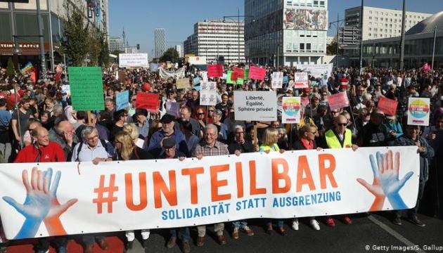 У Берліні - багатотисячна демонстрація проти антисемітизму