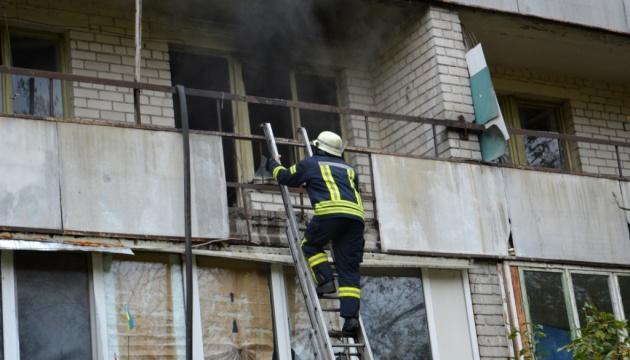 В Днепре вспыхнул пожар в доме престарелых
