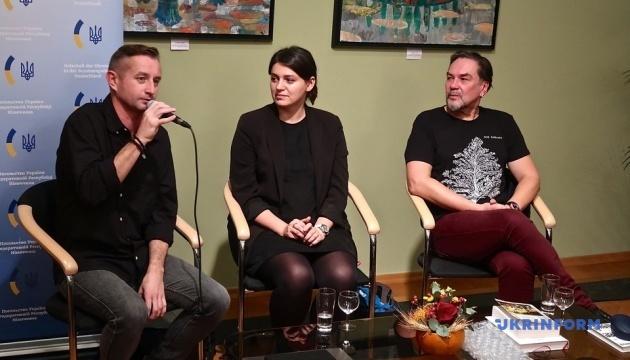 Андрухович, Жадан і Малярчук презентують свої книги у Німеччині