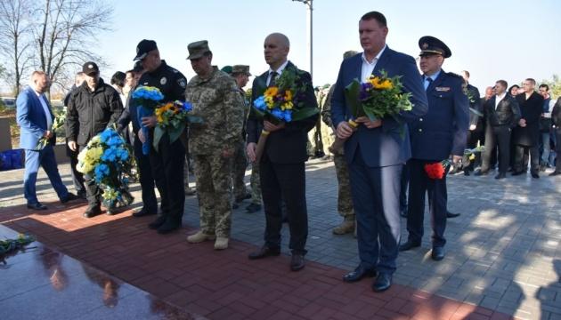 В Донецкой области почтили память погибших защитников
