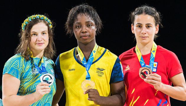 Украинская борчиха завоевала историческую медаль I Всемирных пляжных игр