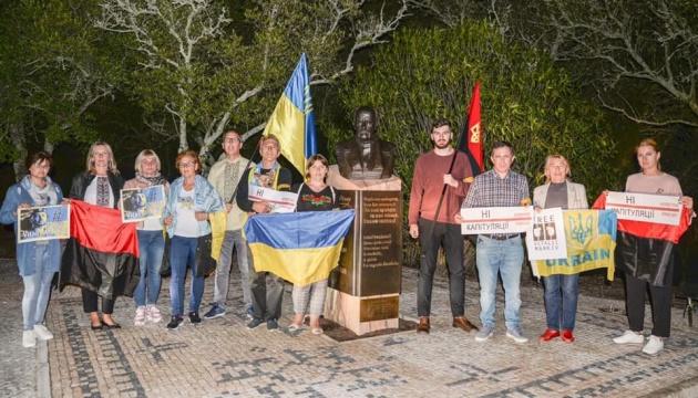 Українці у Португалії підтримали акції «Ні капітуляції!» та за звільнення Марківа