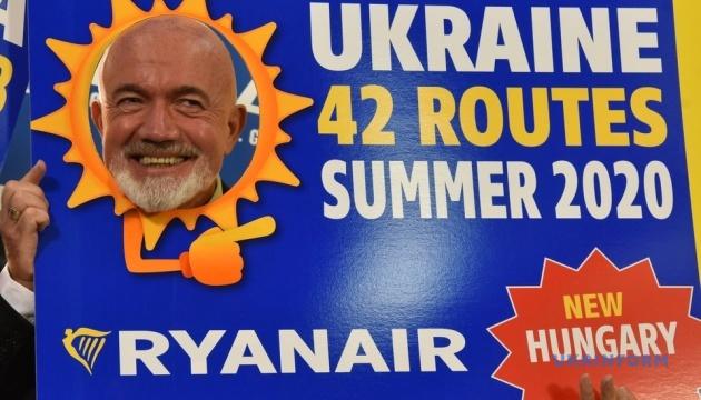 Ryanair летом откроет 18 новых маршрутов из Украины