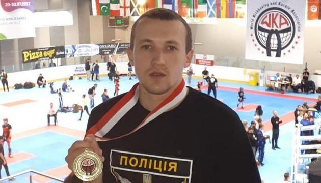 Полицейский из Луганщины стал чемпионом мира по кикбоксингу