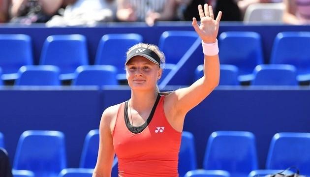 Ястремская обыграла россиянку на теннисном турнире WTA