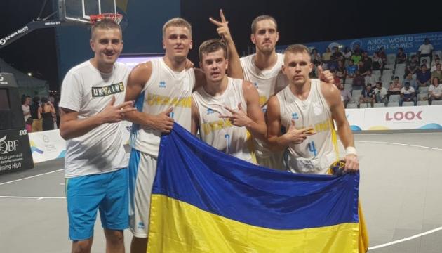Збірна України з баскетболу 3х3 вийшла в 1/4 фіналу I Всесвітніх пляжних ігор