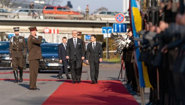 Zelensky: Latvia is well aware of all challenges Ukraine facing now