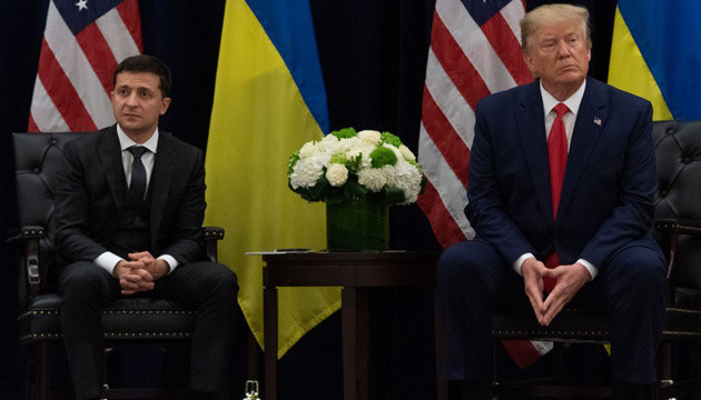 Did Trump press Ukraine?