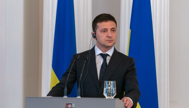 Zelensky sees no need to link Donbas and gas issues