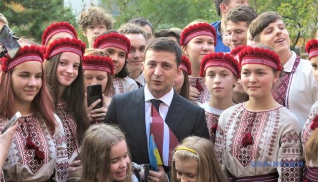 Зеленський розповів про своє бачення ролі української діаспори