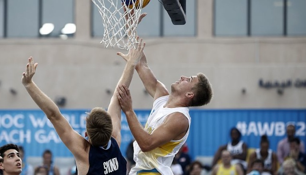 Украинские баскетболисты заняли 4 место на Всемирных пляжных играх в Дохе