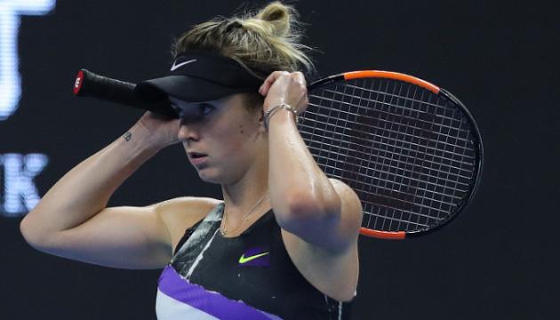 Світоліна зупинилася у другому колі турніру WTA