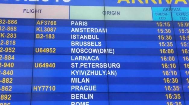 #KyivNotKiev: коректну назву використовують уже 55 аеропортів світу