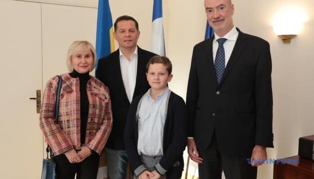 Сущенко зустрівся з послом Франції