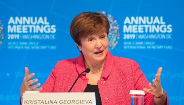 Глава МВФ: Країнам доведеться вийти ще далі із зони комфорту
