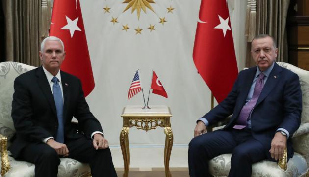 Ердоган погодився припинити вогонь на півночі Сирії – Пенс