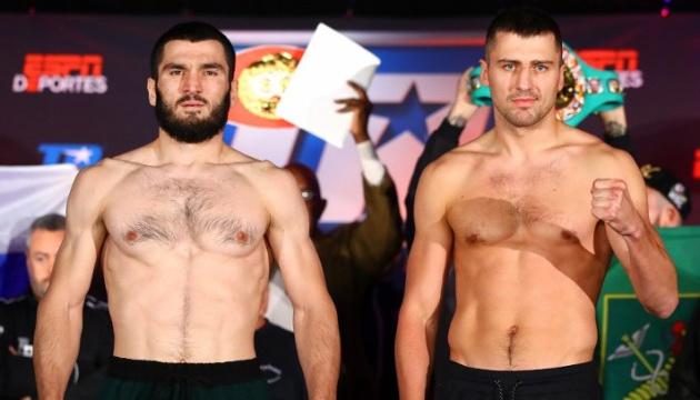 Гвоздик і Бетербієв показали майже однакову вагу перед боєм