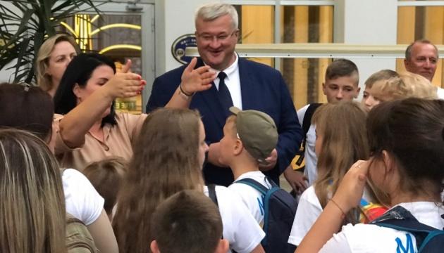 У Мармарисі розпочався тижневий табір для дітей учасників АТО/ООС та закордонних українців