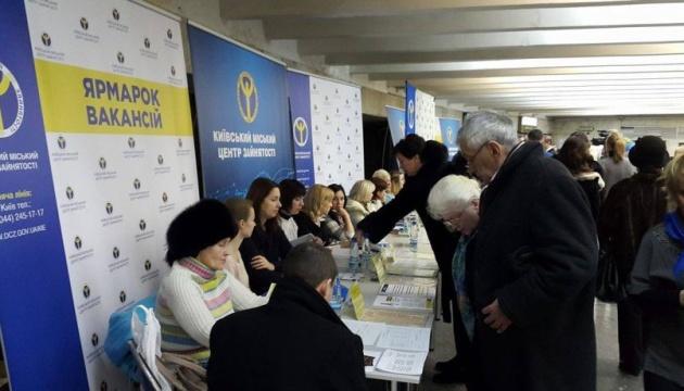 На ринку праці Києва зростає зайнятість та скорочується безробіття - служба зайнятості