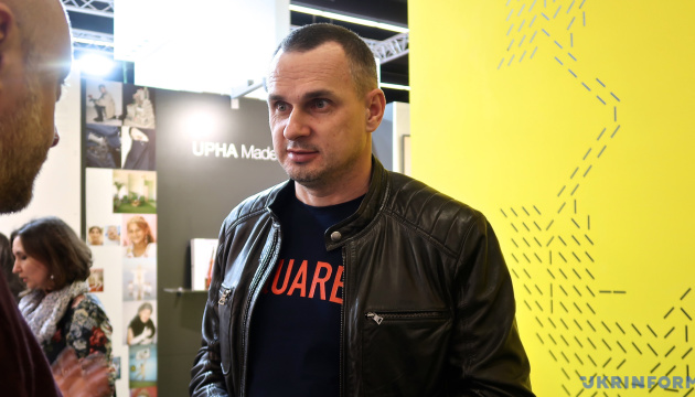 Сенцов за три дні у Страсбурзі дав 45 інтерв'ю
