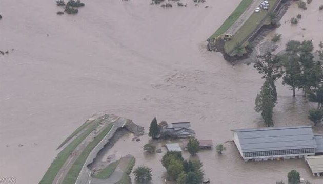 Кількість жертв тайфуну в Японії зросла до 80