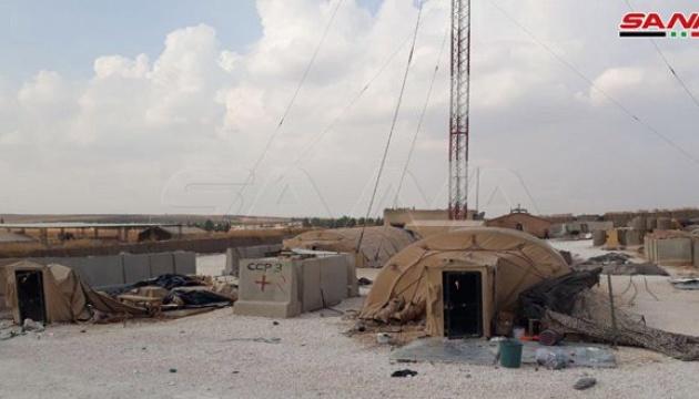 Сили Асада взяли під контроль покинуту американську  базу в Сирії