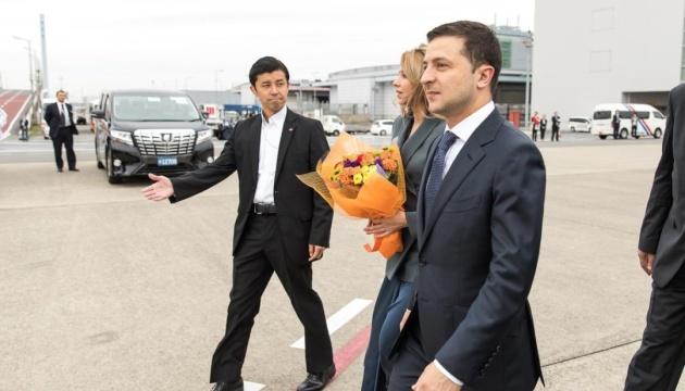 Зеленський прибув із робочим візитом до Японії